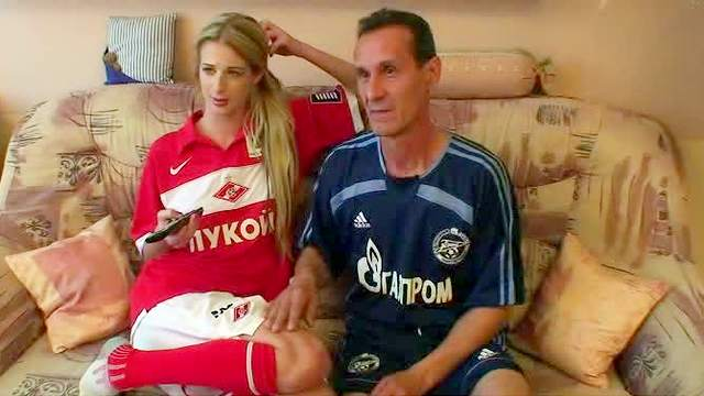 Blowjob, Doggy style, Football, Hardcore, Russian, Shaved pussy, Small tits, Teen