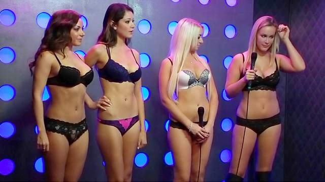 Blonde, Brunette, HD, Interview, Lingerie, Natural tits, Perfect body, Pornstar, Posing, Reality