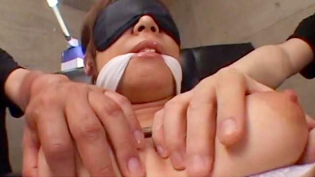 BDSM, Blindfold, Bondage, Hairy, Helpless, Japanese, Lingerie, Natural tits, Rope, Tied, Trimmed pussy, Vibrator