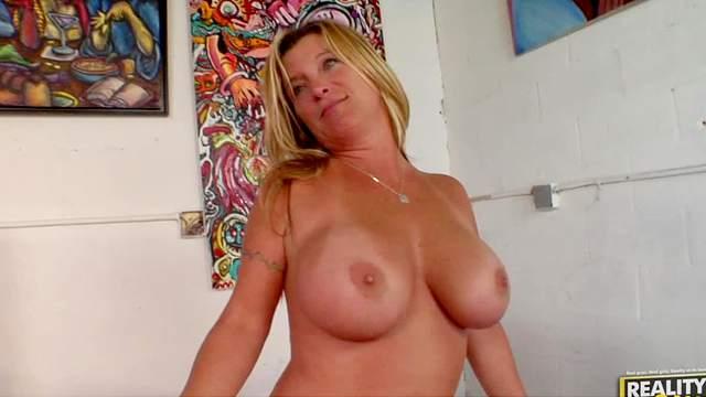 BBW, Big tits, Blonde, Lactating, MILF, Reality