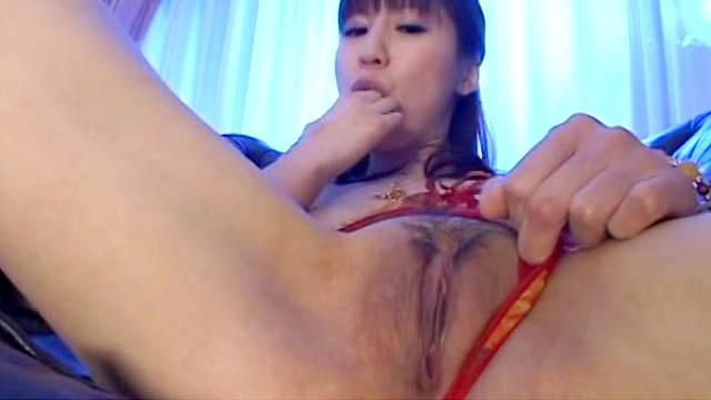 Solo Japanese girl Misuzu Imai having fun