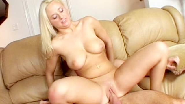 Big-tit blonde Vanessa being fucked with force