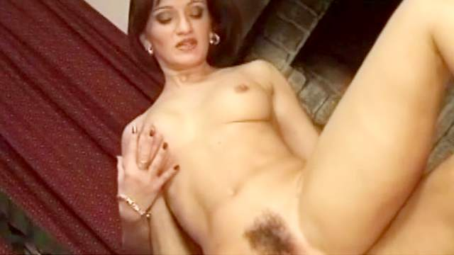 Brunette, Hairy, Mom, Natural tits, Perfect body, Pornstar, Riding, Wax