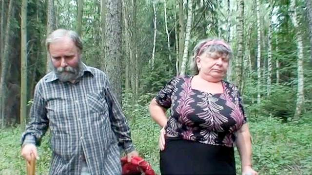 Big tits, Blowjob, Fat, FFM, Forest, Grandpa, Granny, Masturbation, Outdoor, Riding, Threesome, Trimmed pussy, Ugly
