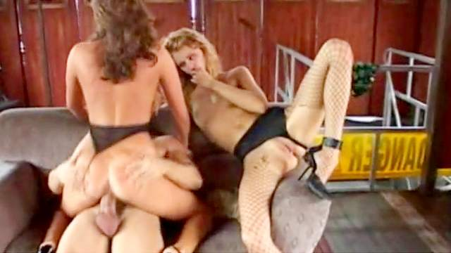Blowjob, Fishnet, Foursome, Orgy, Pussy licking, Retro, Riding, Sofa, Standing
