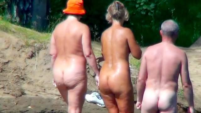 Beach, Hidden cam, Nudist, Outdoor, Voyeur