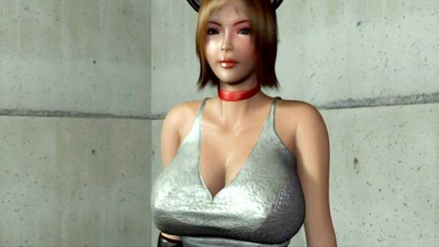 Sweet hardcore 3D fucking with busty Asian