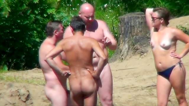 Beach, Hidden cam, Natural tits, Nudist, Outdoor, Voyeur