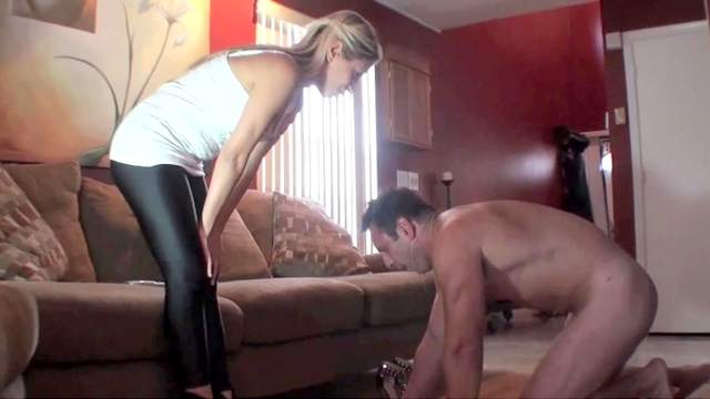 Domination, Femdom, Foot fetish, Kick, Pain, Slave, Trample