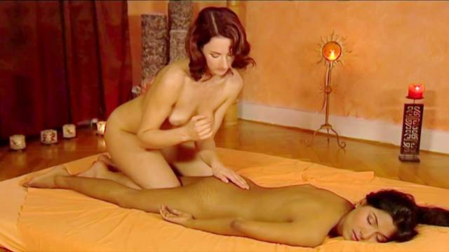 Couple, Erotic, Massage, Masseuse, Romantic, Tanned