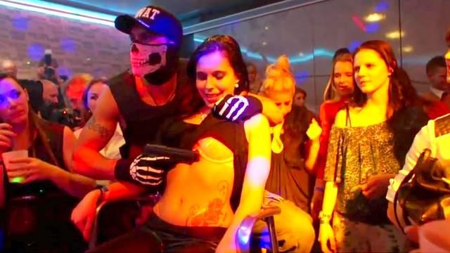 Blowjob, Dance, Group sex, Orgy, Party, Public, Striptease