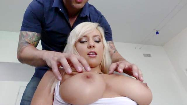 Kylie Page loves a good cock in her tiny little peach