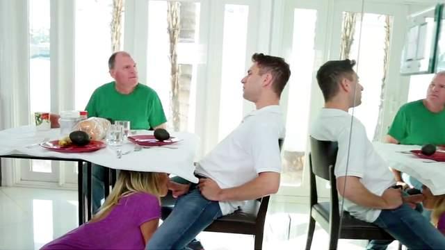 Kagney Linn Karter gets step son to fuck her in crazy modes