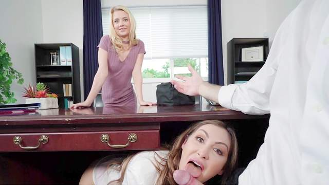 Fabulous threesome romance for two needy babes