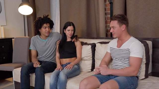 Brian, Louis, Cassie Fire