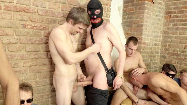 69 sex, Blowjob, Deepthroat, Doggy style, Group sex, Handjob, HD, Mask, 1080p