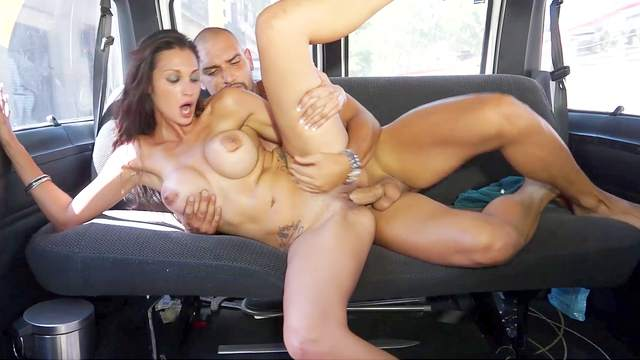 Amateur, Big tits, Car, Doggy style, Fake taxi, Fake tits, HD, MILF, Moaning, Reverse cowgirl, Riding, Spread legs, 1080p