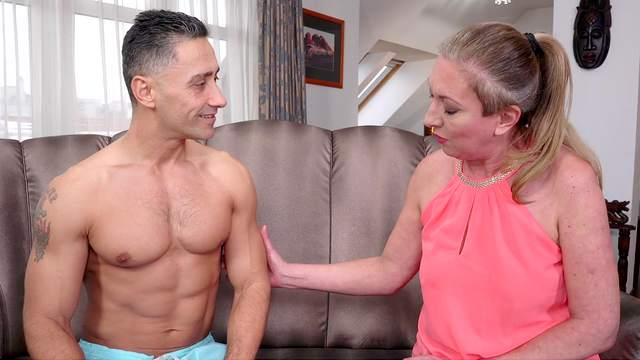 Granny loves nephew's hungry cock dealing her cunt like that