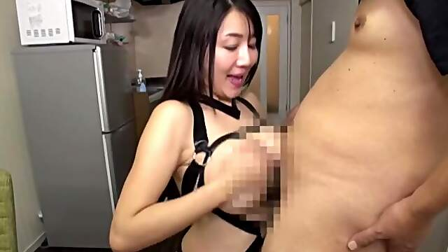 Nude busty Japanese mature in home XXX shag