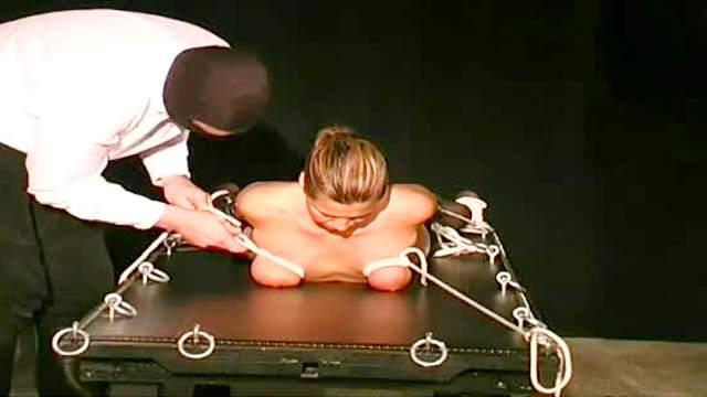 BDSM, Bondage, Guillotine, Mature, Mom, Stockings