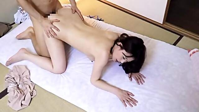 Couch fantasy leaves busty Japanese mature speechless