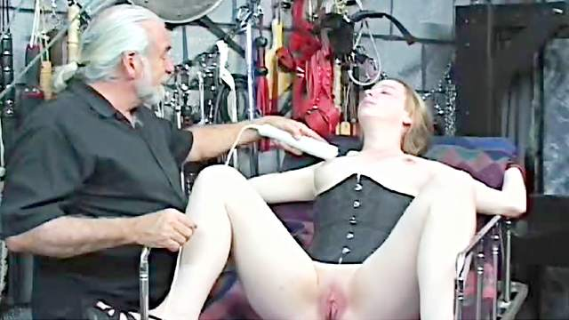 BDSM, Corset, Doll, Extreme, Maledom, Pain, Pussy, Pussy licking, Rope, Tattoo
