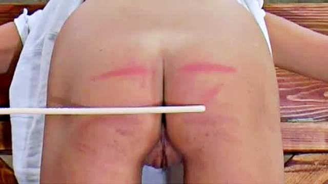 Ass, BDSM, Maledom, Pain, Punishment, Shackles, Shaved pussy, Spanking