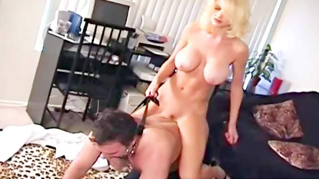Big tits, Blonde, Crazy, Facesitting, Fake tits, Femdom, Hardcore, HD, Pantyhose