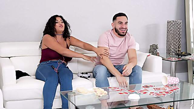 Latina babe moans while riding a dick in reverse cowgirl - Gabriela Lopez