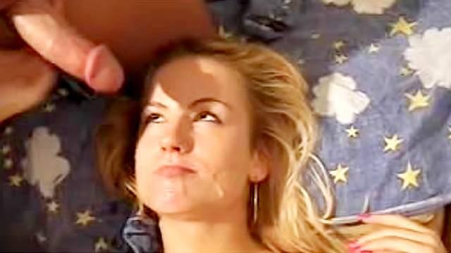 Bed, Big dick, Blonde, Blowjob, Crazy, Cumshot, MILF, Perfect body