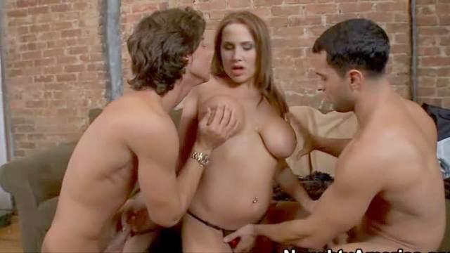 Big tits, Blowjob, Doggy style, Double penetration, Hardcore, MILF, Mom, Teen, Threesome
