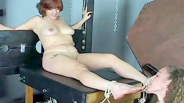 Ass, Domination, Femdom, Forced orgasm, Rope, Skirt, Tattoo, Toys
