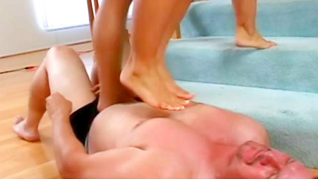 Ass, Blonde, Brunette, Femdom, HD, Interview, Trample