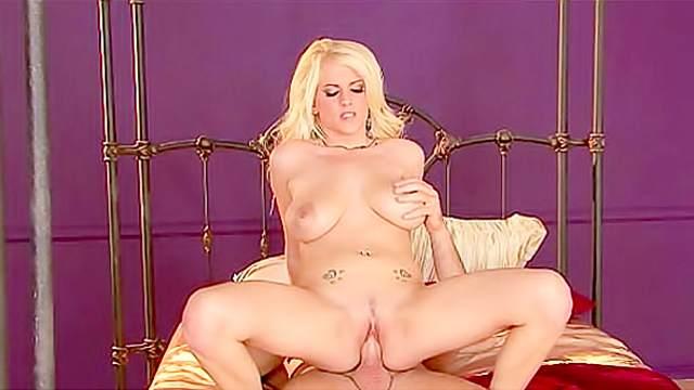 Natural blonde Haley Cummings hardcore