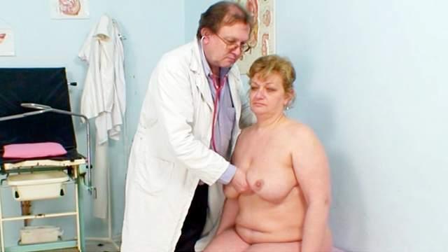 Rectal temperature and medical fetish fun