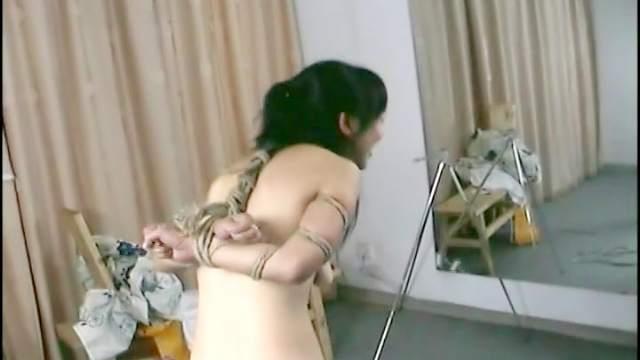 Asian, BDSM, Bondage, Hairy, Hanging, HD, Slave, Small tits