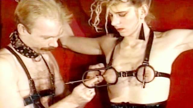 BDSM, Domination, Pain, Rope, Slave, Tits torture, Torture