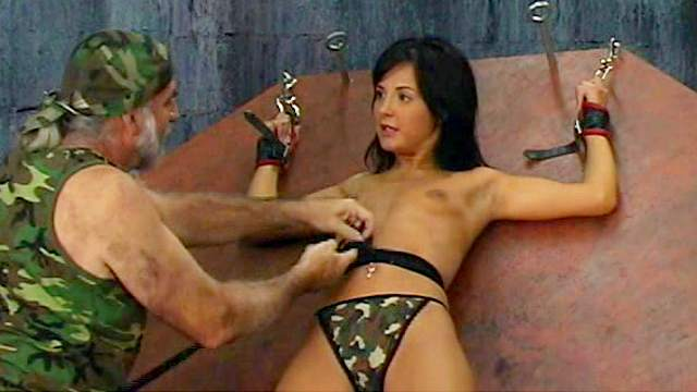 BDSM, Cage, Domination, Pain, Rope, Tits torture, Torture