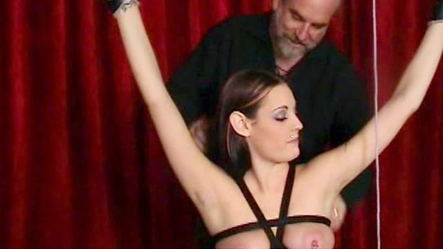 BDSM, Domination, Lingerie, Pain, Rope, Tits torture, Torture