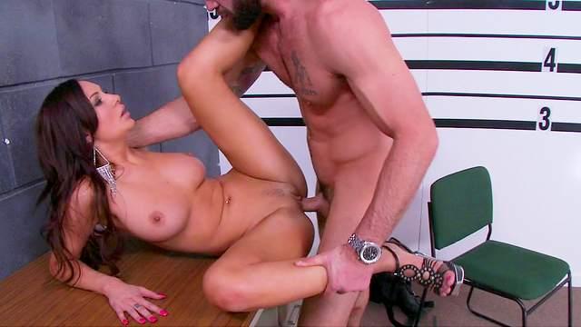Amy Ried sucks tasty dick of Charles Dera