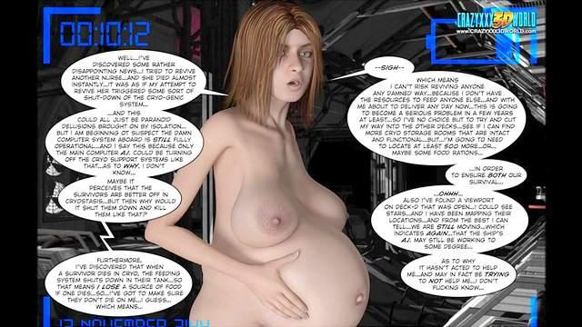 3D Porn, Comics, HD, Pregnant
