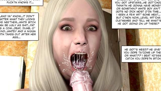 3D Porn, Big dick, Comics, Facial