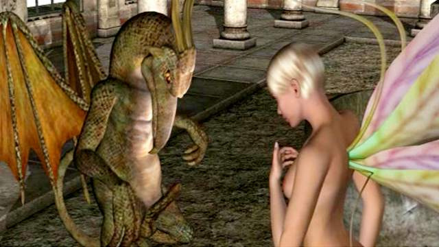 3D Animation, 3D Monster, Blowjob, HD, Monster
